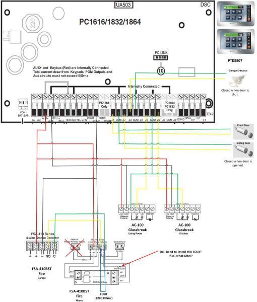Yt 2481 4 Wire Smoke Detector Wiring Diagram Free Diagram