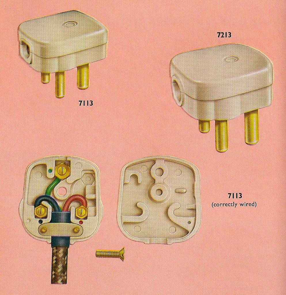 Fabulous Correctly Wiring Your Crabtree Three Pin Plug In 1962 Flickr Wiring Cloud Apomsimijknierdonabenoleattemohammedshrineorg