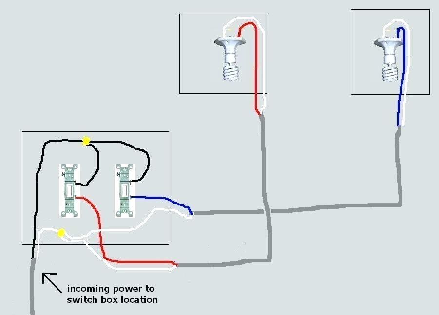 XA_4140] Wiring Double Light Switch Box Schematic WiringJidig Kapemie Mohammedshrine Librar Wiring 101