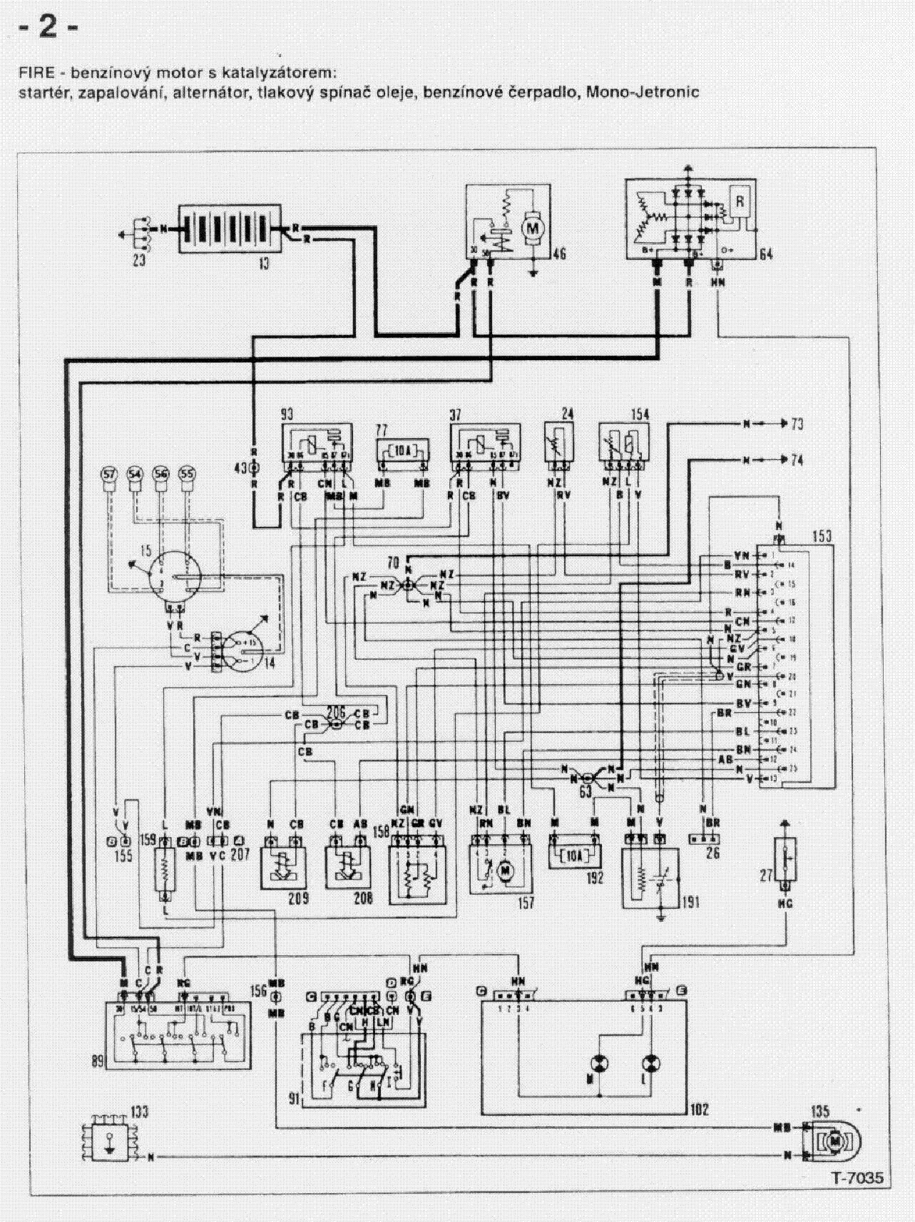 Ev 9518 Fiat Vacuum Diagram Fiat Circuit Diagrams Schematic