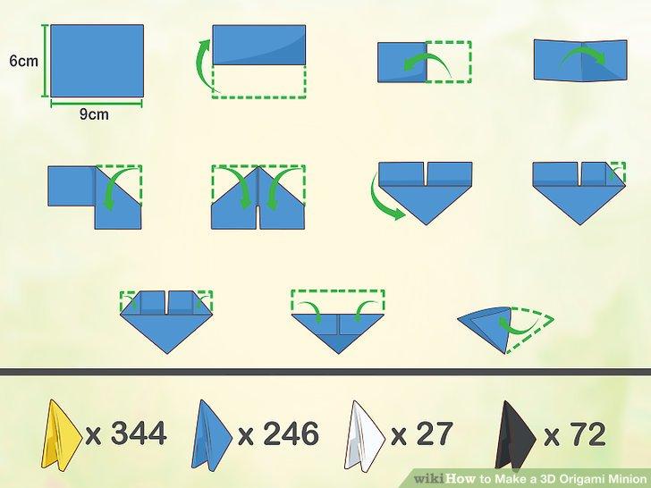 3D Origami- Swan]::Art of folding a paper:: - Destiny's Child | 546x728