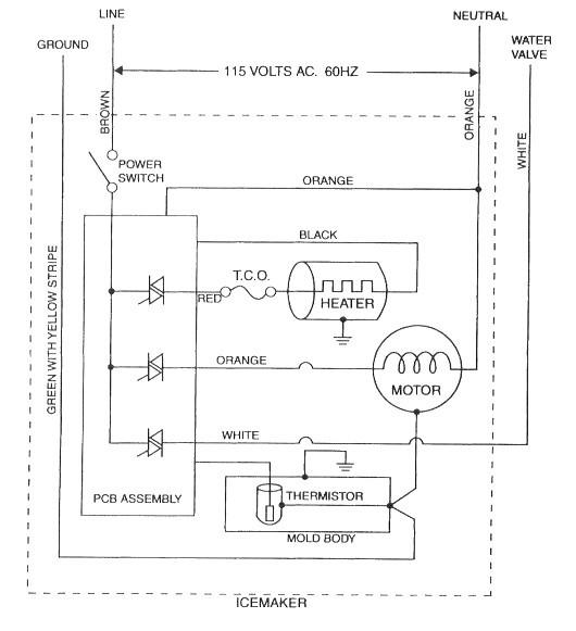 [NRIO_4796]   SE_2153] Frigidaire Ice Maker Parts Diagram On Ice Maker Schematic Diagram  Wiring Diagram | Wiring Diagram For Ge Ice Maker |  | Wned Venet Mohammedshrine Librar Wiring 101