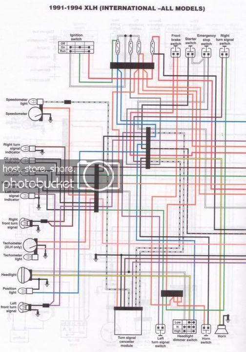 Sportster Wiring Diagram