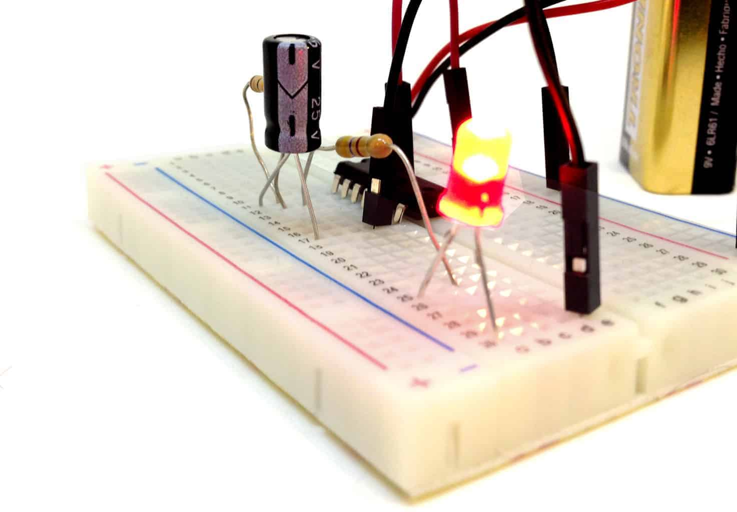 Excellent Blinking Led Circuit With Schematics And Explanation Wiring Cloud Intelaidewilluminateatxorg