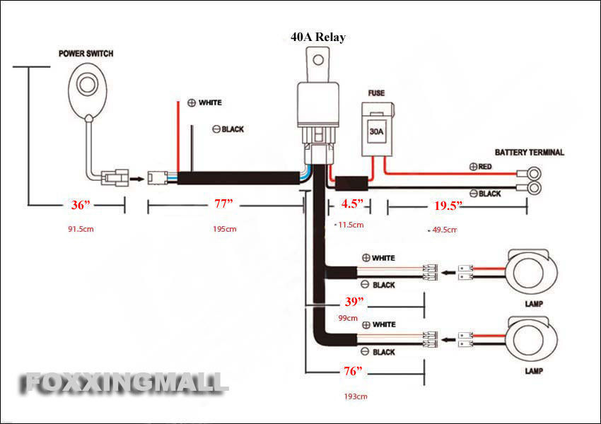 Anzo Led Light Bar Wiring Diagram