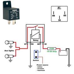 Fantastic Horn Relay Schematic Basic Electronics Wiring Diagram Wiring Cloud Xortanetembamohammedshrineorg