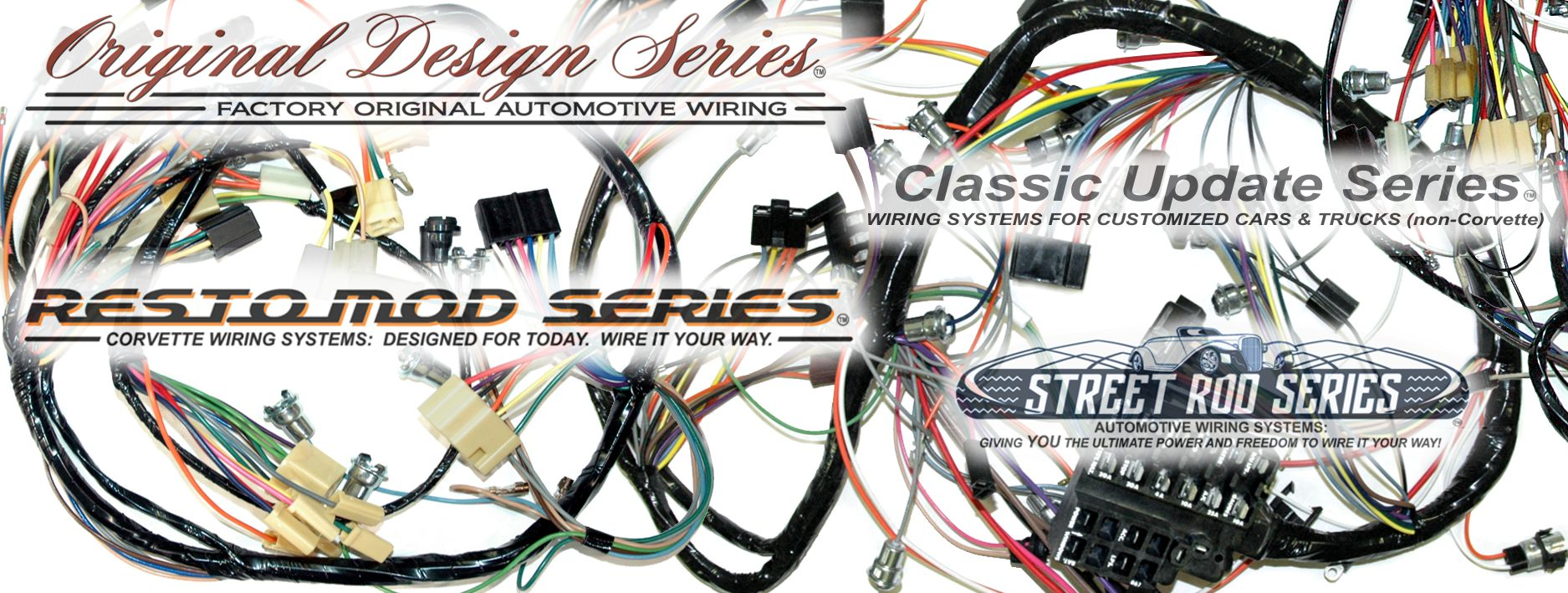 Amazing Exact Oem Reproduction Wiring Harnesses And Restomod Wiring Systems Wiring Cloud Ymoonsalvmohammedshrineorg