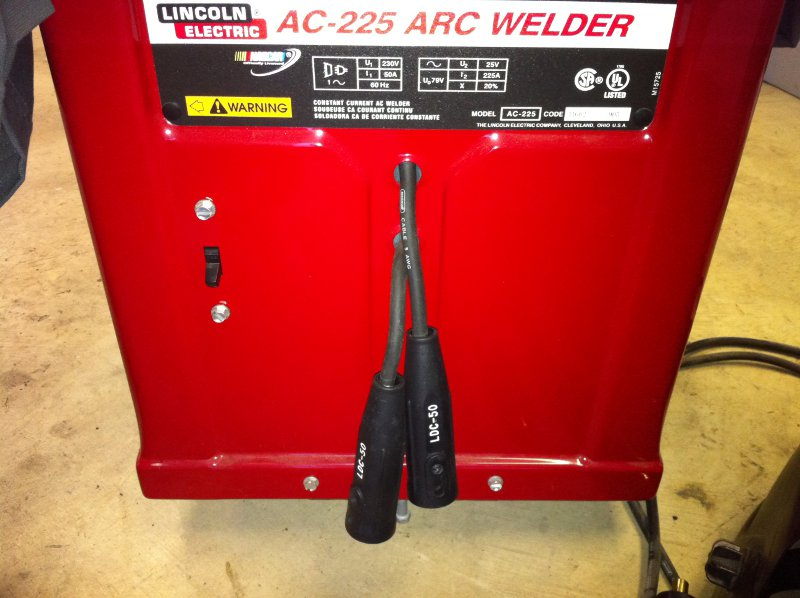 Awesome Lincoln Electric Ac 225 Ac225 Ac Dc Stick Tig Welder Conversion Wiring Cloud Hemtshollocom
