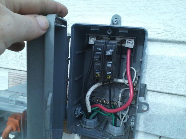 Amazing Run A 30 Amp Rv Outlet Outside Non Burial Doityourself Com Wiring Cloud Vieworaidewilluminateatxorg