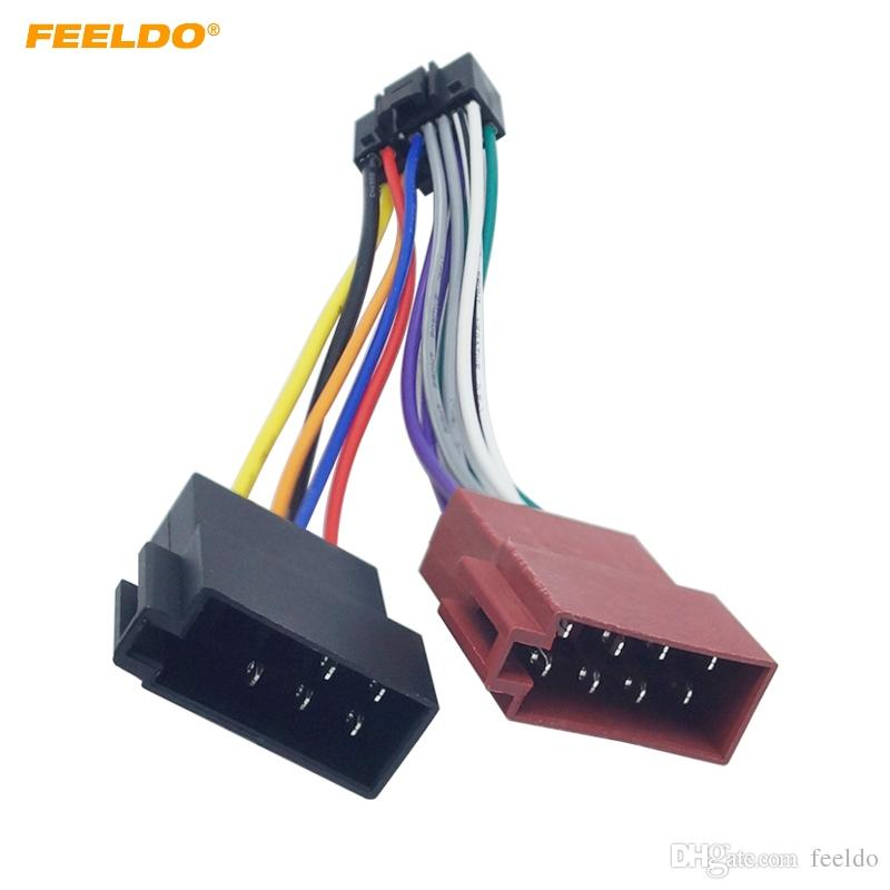 Excellent 2019 Feeldo Car Stereo Radio 16 Pin Pi100 Iso Wiring Harness Adapter Wiring Cloud Ittabpendurdonanfuldomelitekicepsianuembamohammedshrineorg