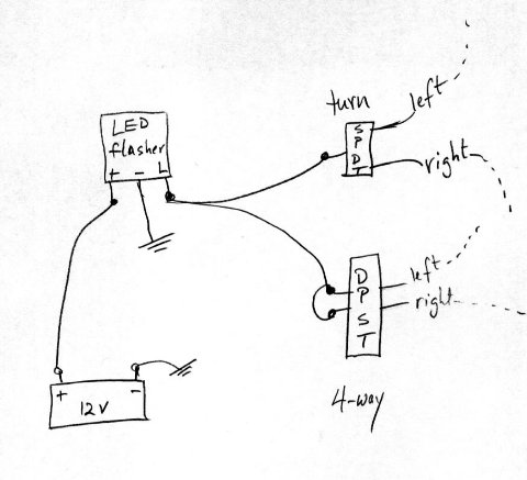 Za 1965 Wiring Diagram For Led Lights On Motorcycle