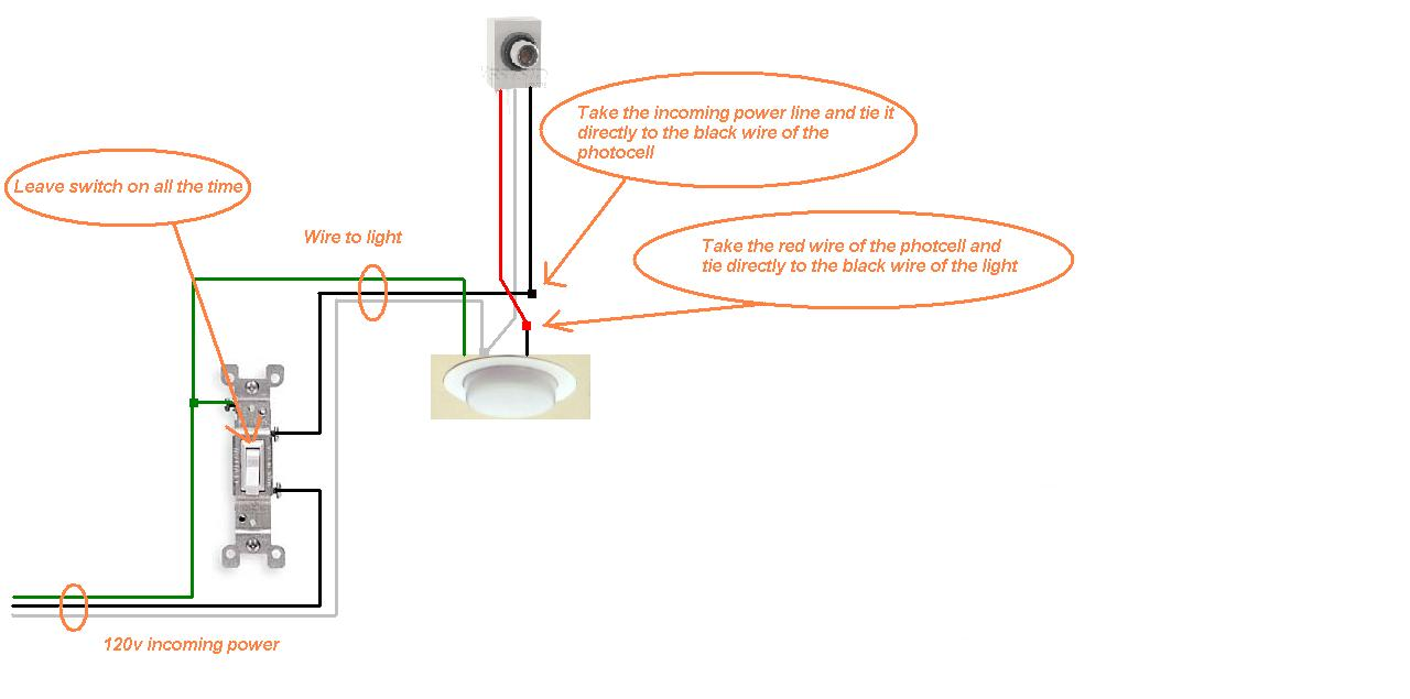 How To Wire A Light Sensor