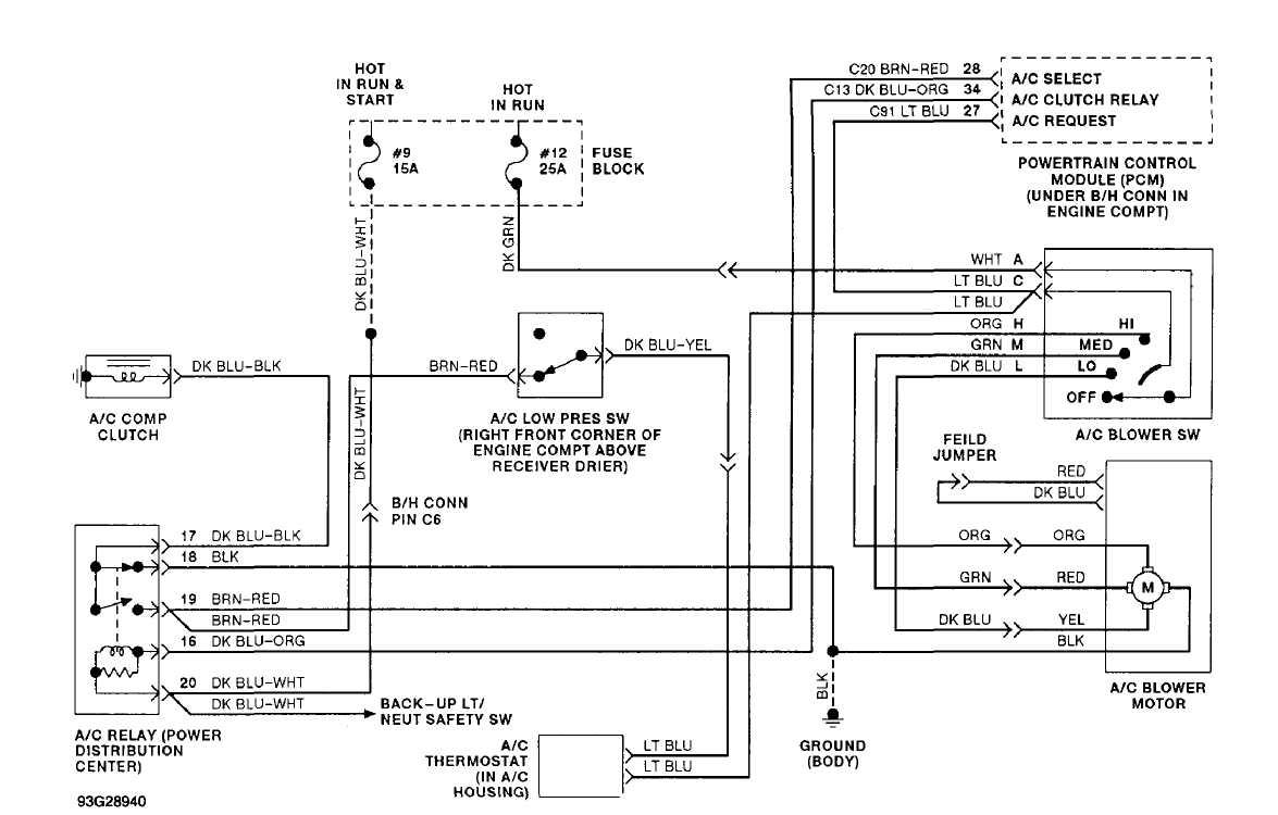 Excellent A C Heater System Manual 1993 Jeep Cherokee Xj Jeep Wiring Cloud Licukaidewilluminateatxorg