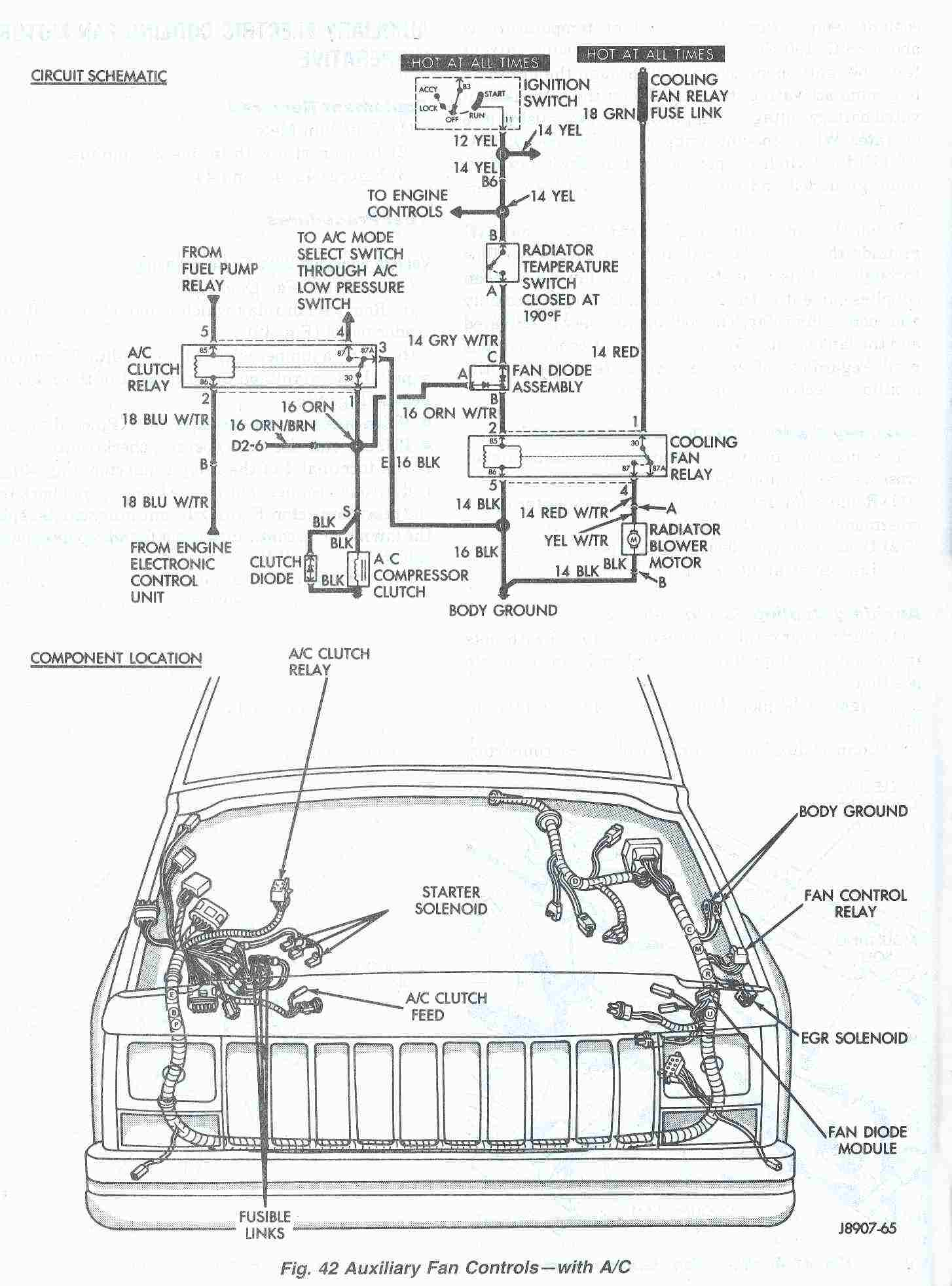 Fine Wiring Diagram For Electric Radiator Fan Basic Electronics Wiring Wiring Cloud Hemtshollocom