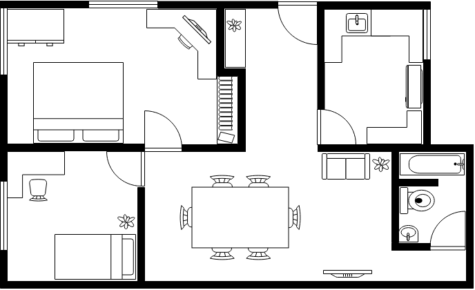 wiring house floor plan sn 1199  diagram showing an example of a floor plan free diagram  diagram showing an example of a floor