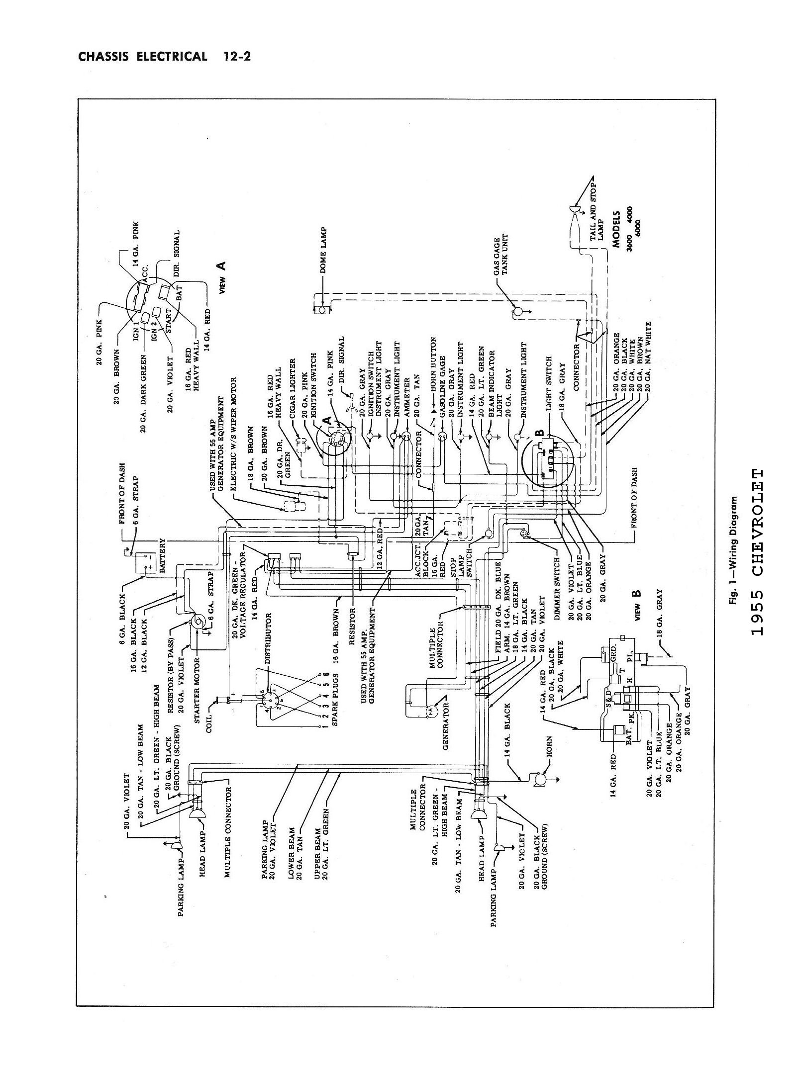 Stupendous Chevy Wiring Diagrams Wiring Cloud Timewinrebemohammedshrineorg