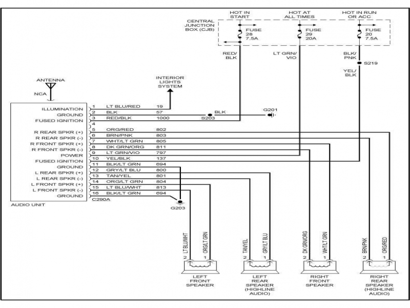 1993 ford f150 stereo wiring diagram  center wiring diagram