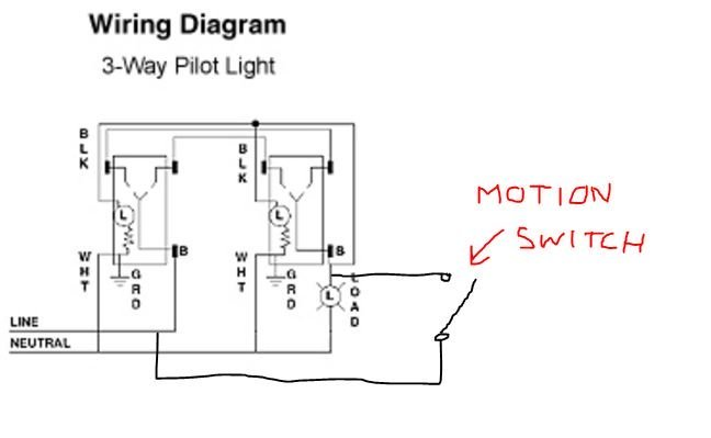 How To Wire A Three Way Motion Sensor