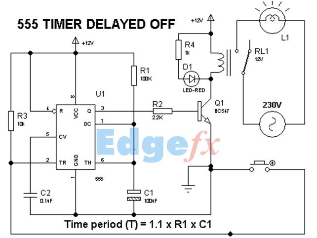 Terrific 555 Timer Circuits Circuit Egg Timer By Lm555 Basic Electronics Wiring Cloud Gufailluminateatxorg