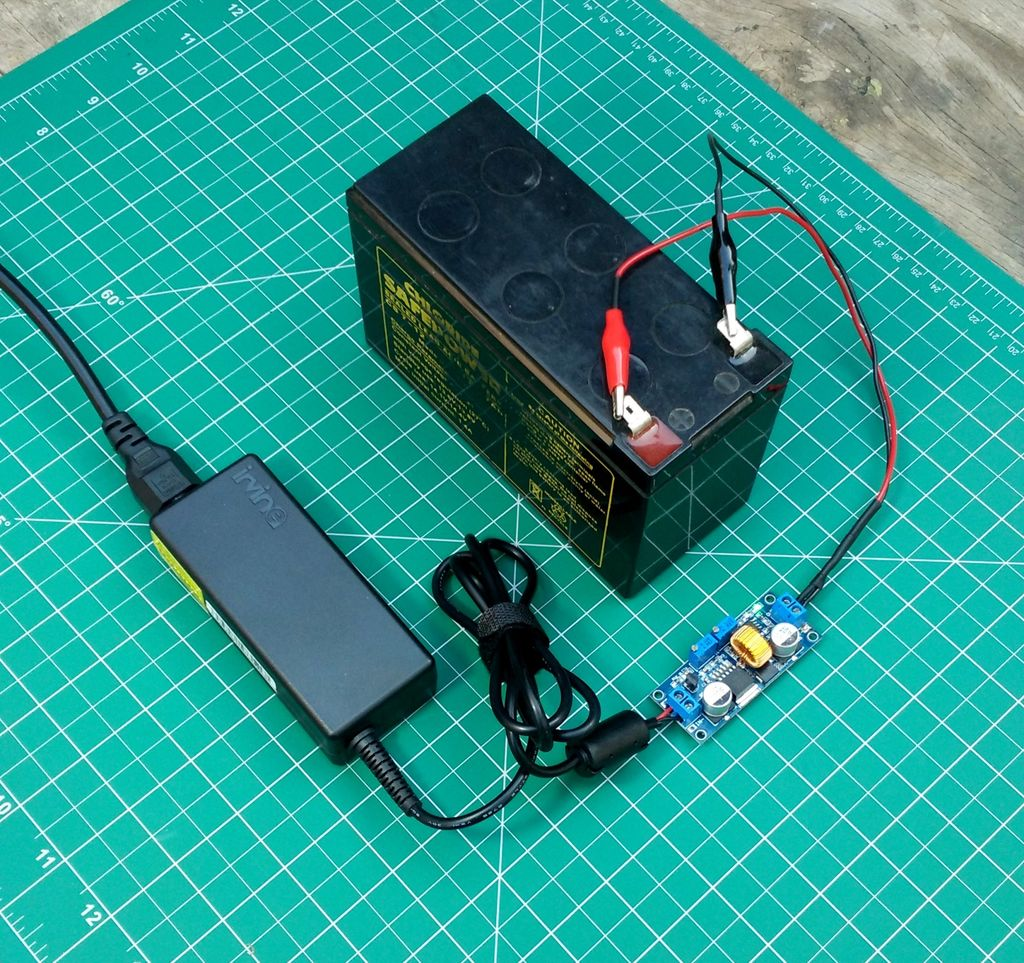 Remarkable How To Make A 12V Battery Charger 5 Steps With Pictures Wiring Cloud Icalpermsplehendilmohammedshrineorg