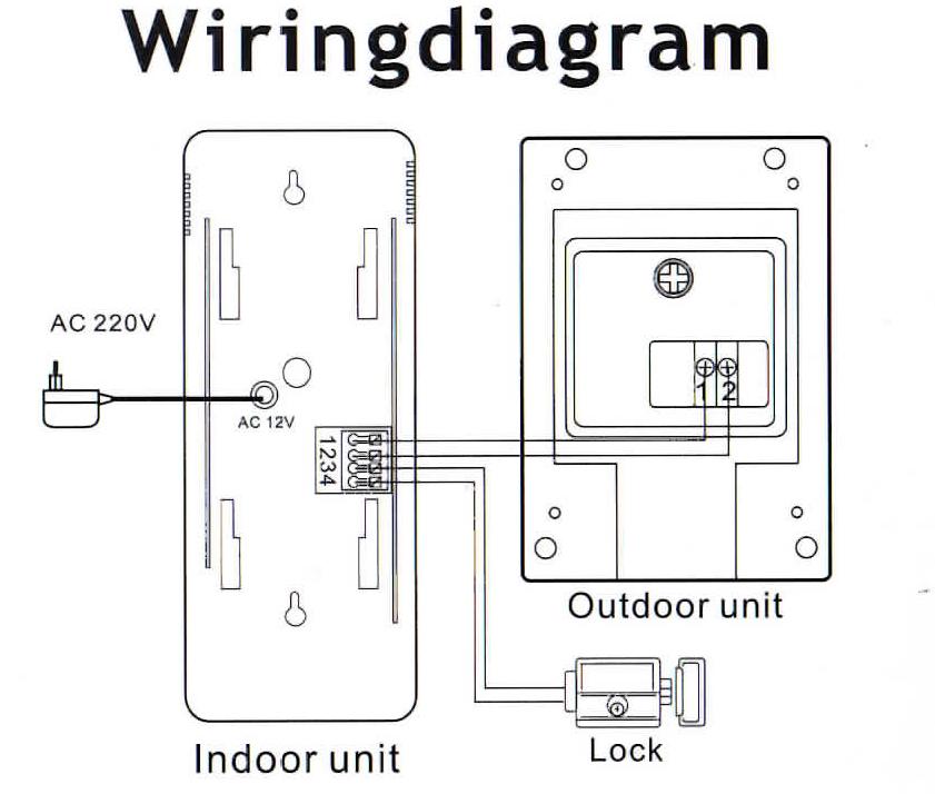 Bell 901 Door Entry System Wiring Diagram
