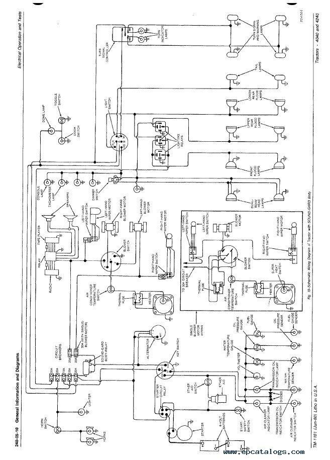 john deere g wiring diagram wiring diagram for john deere 4240 e3 wiring diagram  wiring diagram for john deere 4240 e3