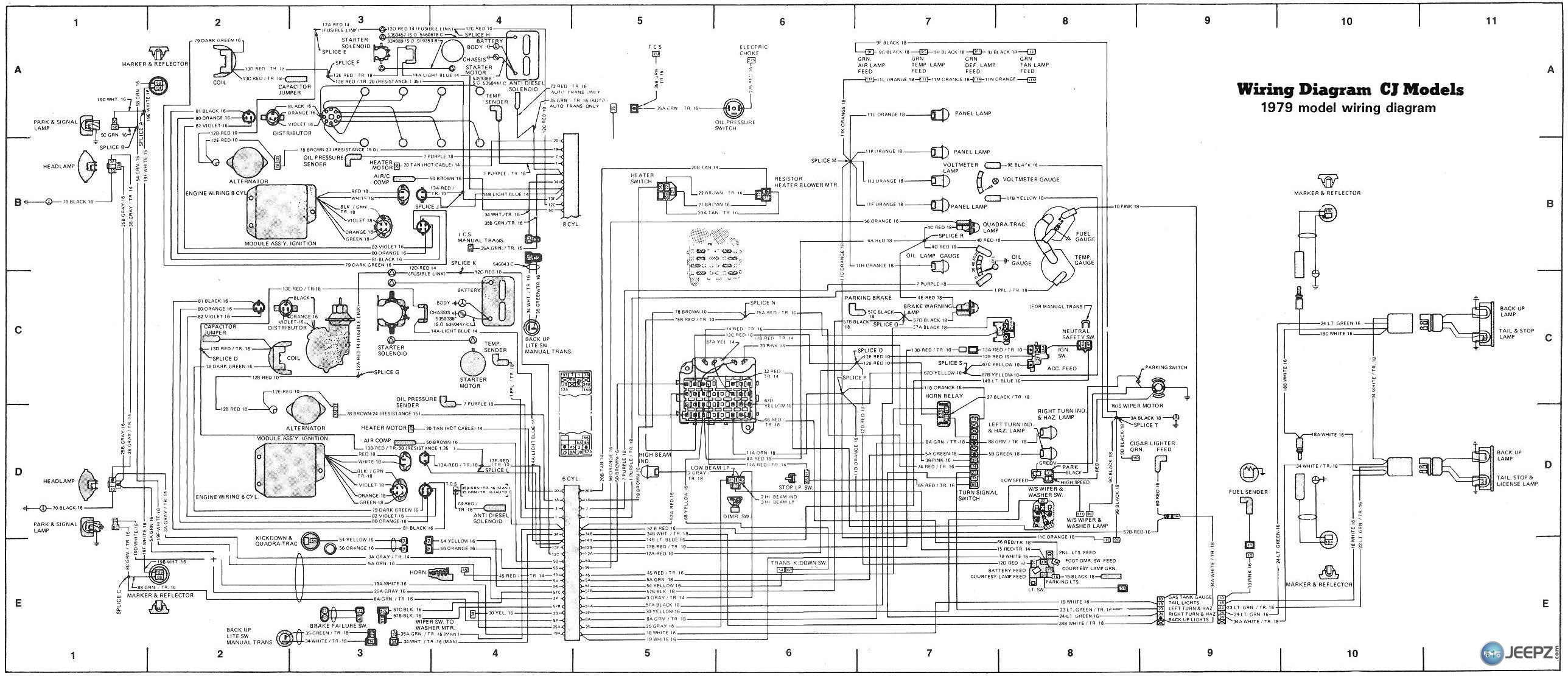 Remarkable Wiring Diagram For Cj8 Blog Diagram Schema Wiring Cloud Overrenstrafr09Org