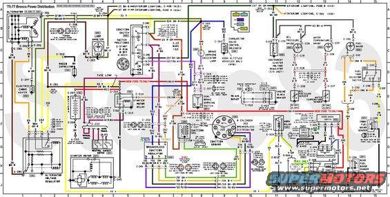 Terrific 1974 Ford Bronco Wiring Diagram Wiring Diagram Wiring Cloud Filiciilluminateatxorg