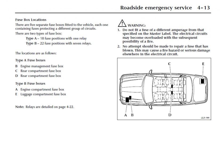Awe Inspiring Jaguar Xj8 Fuse Diagram Basic Electronics Wiring Diagram Wiring Cloud Picalendutblikvittorg