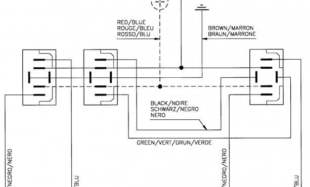 Power Window Wiring Diagram - Wiring Diagram