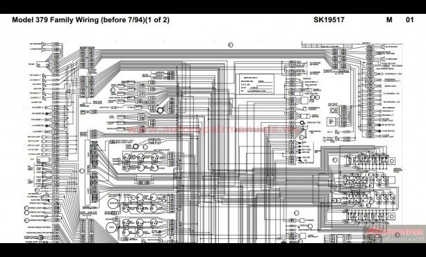 Other Car Manuals Automotive Peterbilt 379 Family Hvac Wiring Diagrams 04 2004 Down With Without Pcc