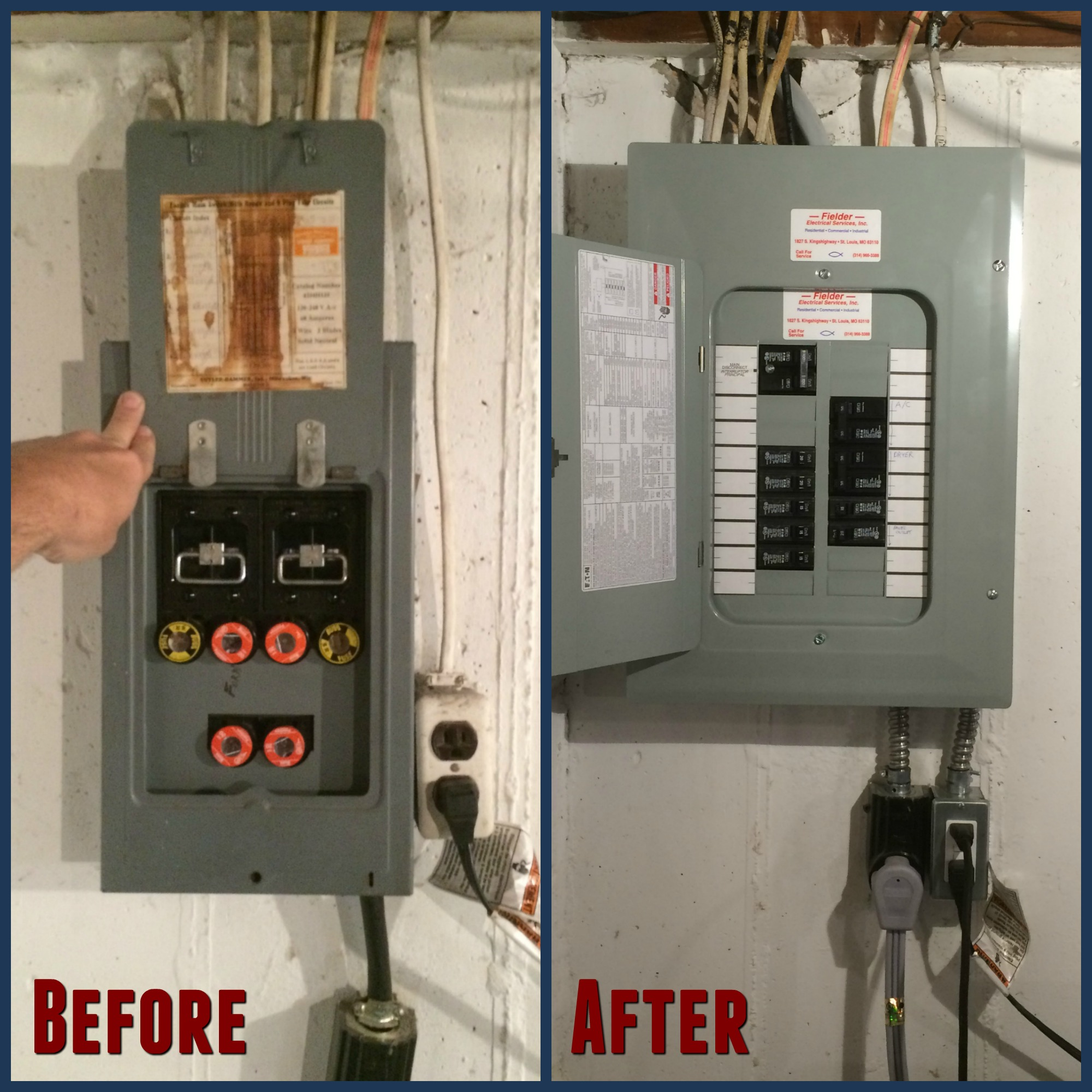 Excellent Breaker Box Fuse Replacement Basic Electronics Wiring Diagram Wiring Cloud Rdonaheevemohammedshrineorg
