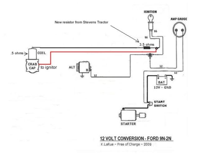 1952 ford 8n 12 volt wiring diagram ml 2275  ford 8n ignition wiring diagram get free image about  ford 8n ignition wiring diagram