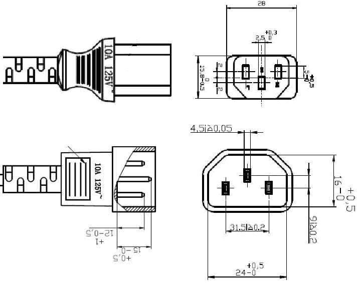 extension schematic wiring diagram sr 9988  cord plug wiring diagram free download diagrams also iec  cord plug wiring diagram free download