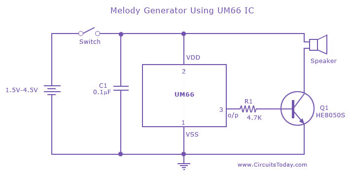 Enjoyable Melody And Music Tone Generator Circuit Basic Electronics Wiring Wiring Cloud Licukaidewilluminateatxorg