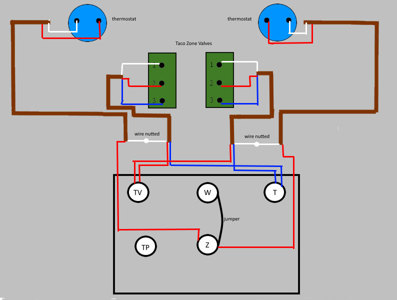 24v Thermostat Wiring Diagram - Collection