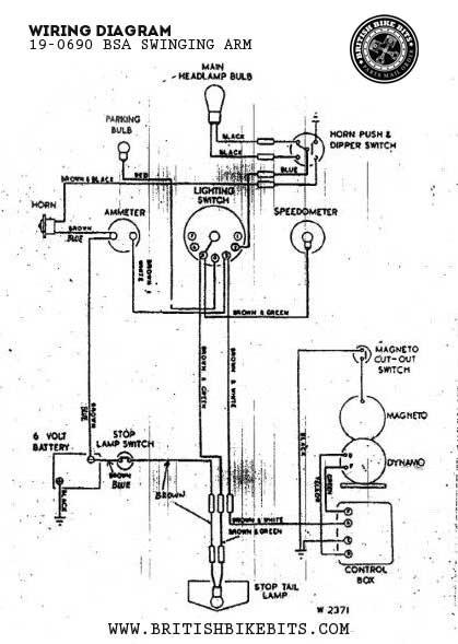 Ly 5382  Bsa Wiring Diagram Download Diagram