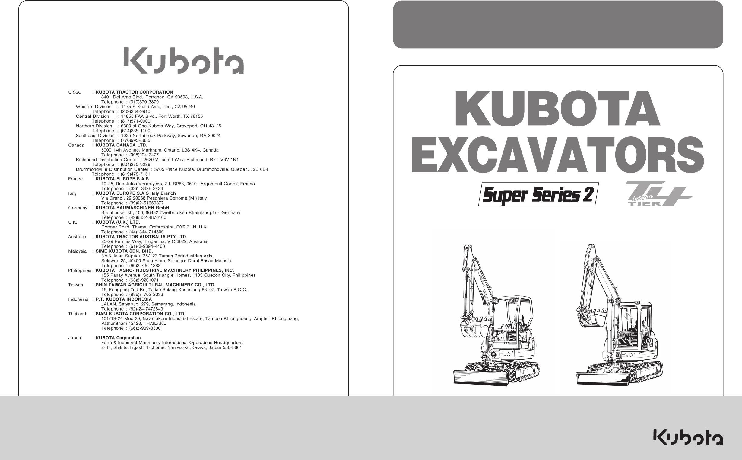 Decals & Emblems Kubota KX91-3 Decals Stickers Super Series 2 ...