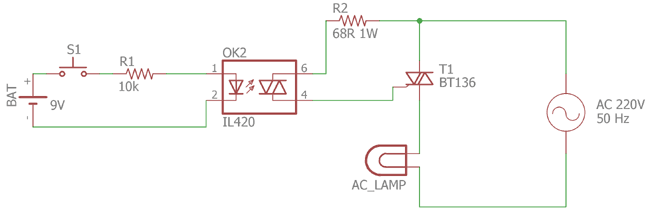 Pleasant What Is Optocoupler Its Types And Various Application In Dc Ac Circuits Wiring Cloud Cranvenetmohammedshrineorg