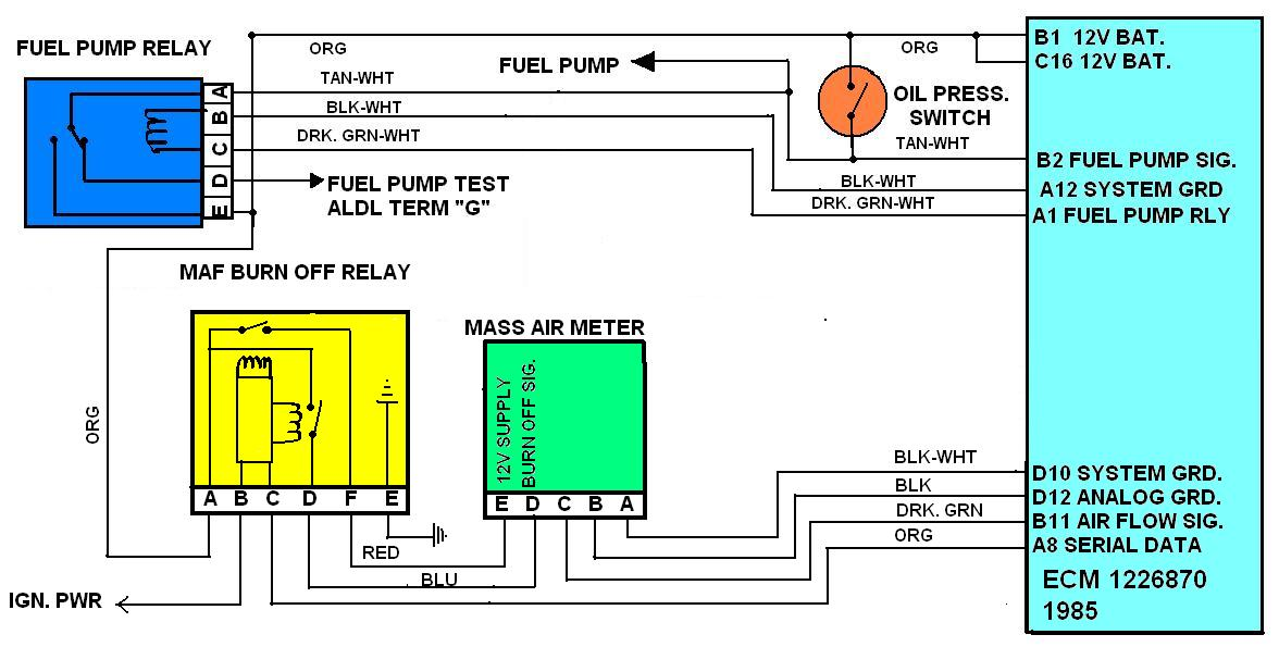 bmw 525i fuel pump wire diagram ch 8855  negative fuel pump relay wiring diagram get free image  negative fuel pump relay wiring diagram