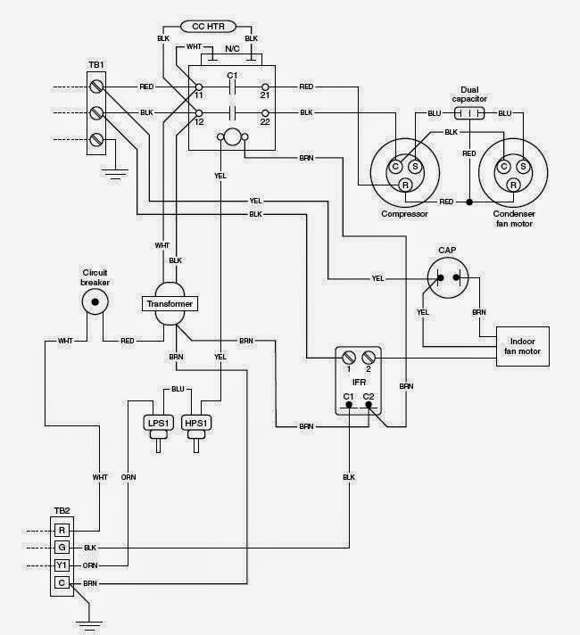 Marvelous Electrical Wiring Diagrams For Air Conditioning Systems Part One Wiring Cloud Waroletkolfr09Org