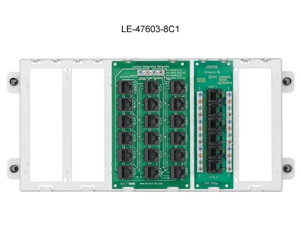Superb Leviton Pre Configured Structured Media Panels Cableorganizer Com Wiring Cloud Licukosporaidewilluminateatxorg