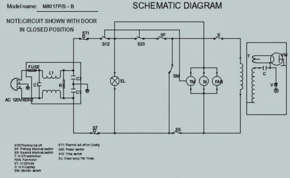 YO_2461] Microwave Oven Diagram From The Schematic Diagram Download DiagramOphag Numap Mohammedshrine Librar Wiring 101