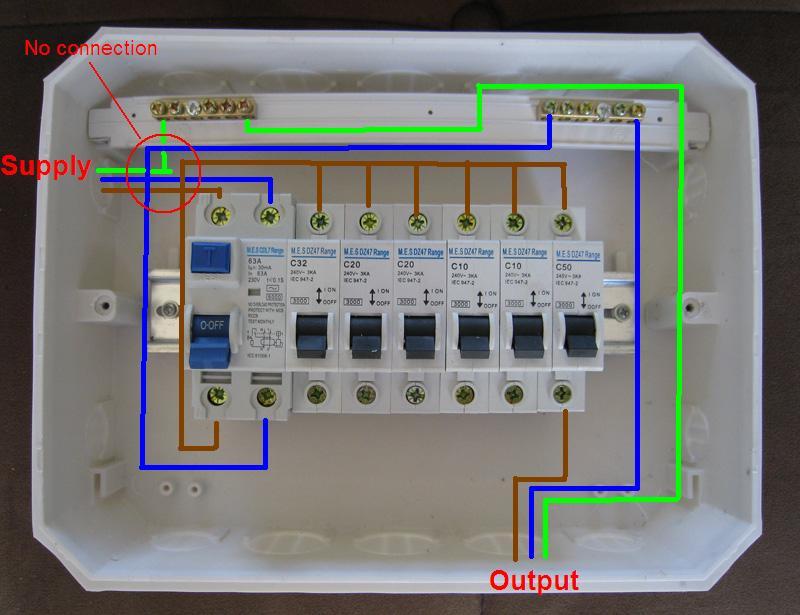 Xy 4952 Home Db Board Wiring