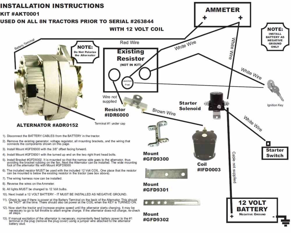 6 Volt Alternator Wiring Diagram Home Audio Wiring Stereoa Kdx 200 Jeanjaures37 Fr
