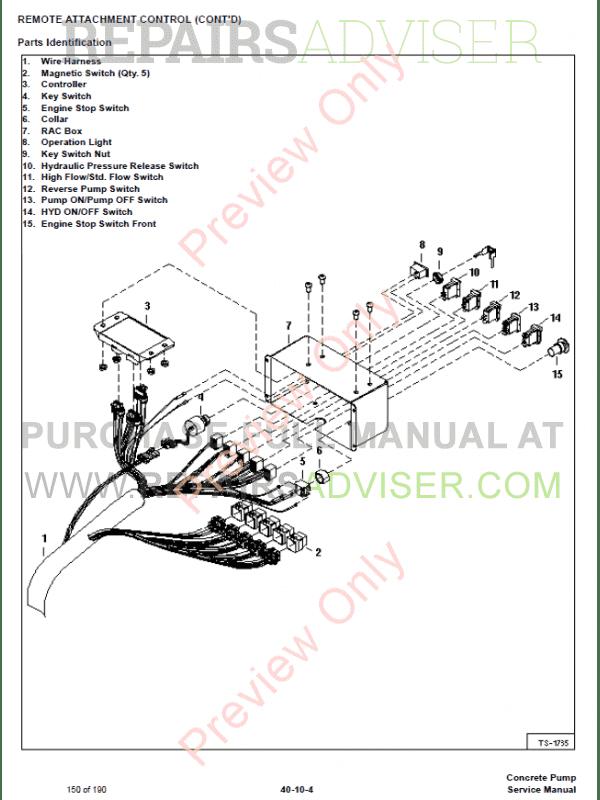 bobcat 864 wiring diagram dh 6594  bobcat attachment wiring diagrams wiring harness wiring  wiring diagrams wiring harness wiring