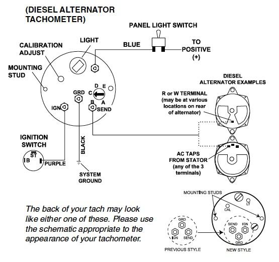 Teleflex Tachometer Wiring Diagram