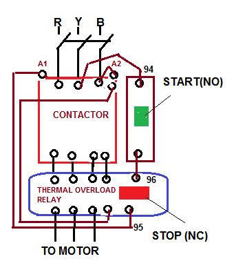 Stupendous Direct On Line Starter Electrical Notes Articles Wiring Cloud Biosomenaidewilluminateatxorg