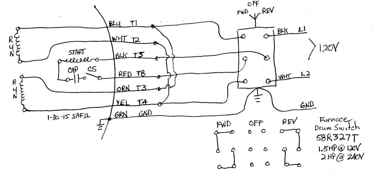 Pleasing 120 Volt Single Phase Motor Wiring Diagrams Wiring Diagram Data Wiring Cloud Loplapiotaidewilluminateatxorg
