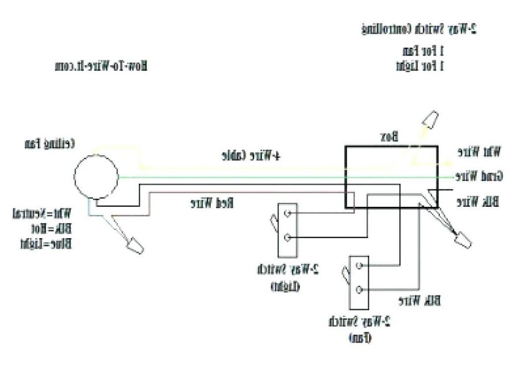 Ceiling Fan Internal Wiring Schematic